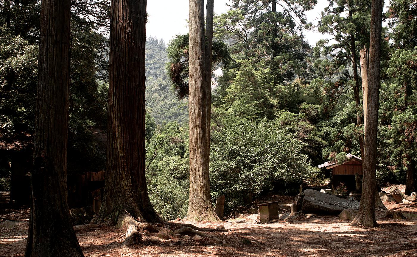 弥山 奥の院