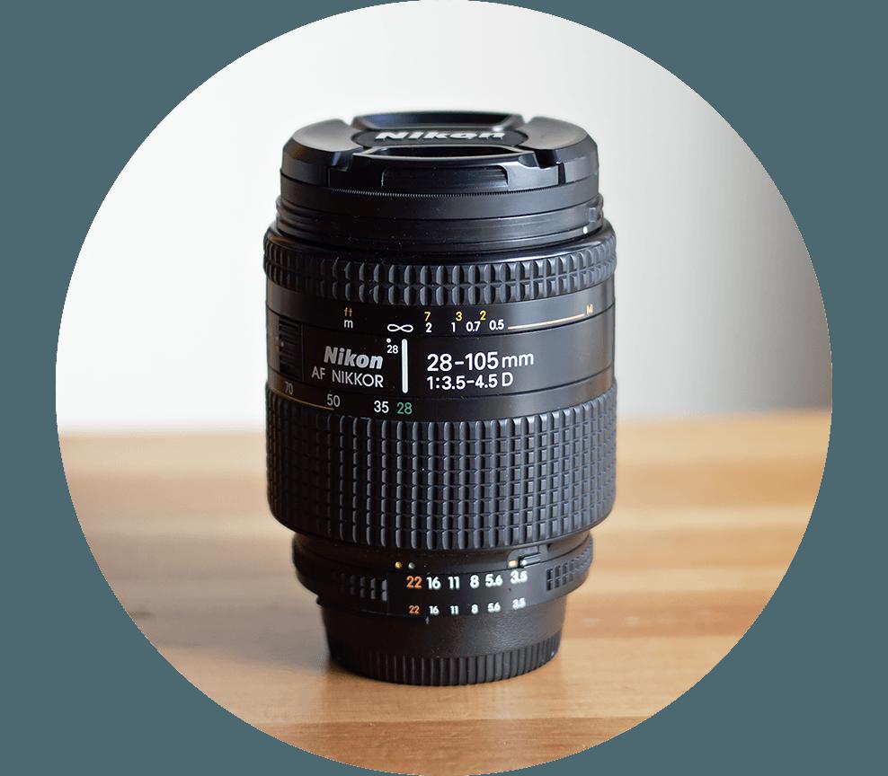 Ai AF Zoom Nikkor 28-105mm F3.5-4.5D
