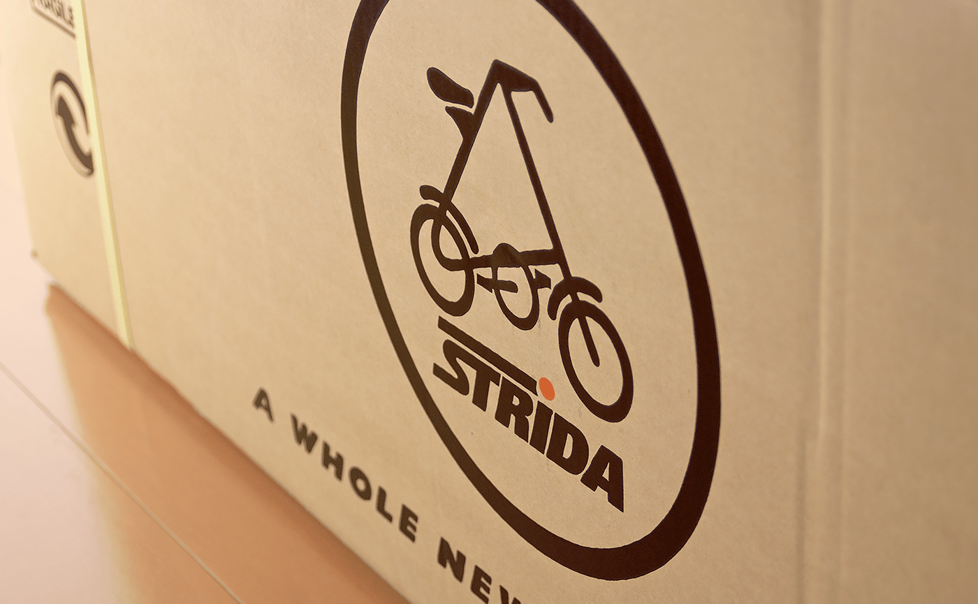 STRiDA ストライダ 箱