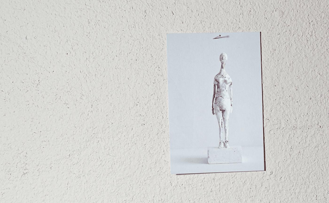 立花英久 塑像