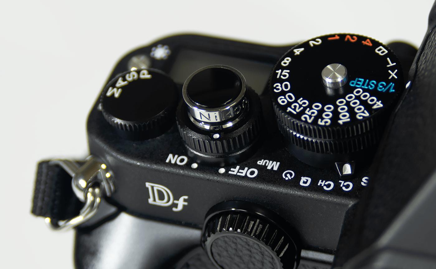 Nikon Df 電源スイッチ